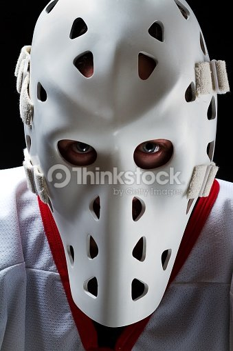 Hockey Goalie Vintage Stock Photo Thinkstock