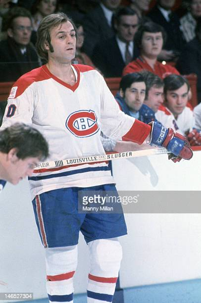 Montreal Canadiens Guy Lafleur during game vs New York Rangers at Montreal Forum Montreal Canada 2/20/1976 CREDIT Manny Millan