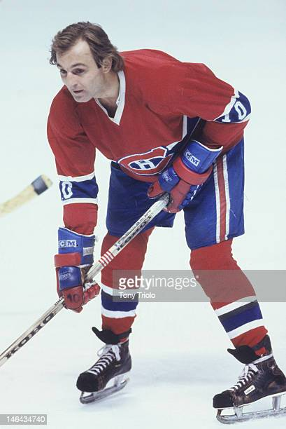 Montreal Canadiens Guy Lafleur in action vs St Louis Blues at St Louis Arena St Louis MO CREDIT Tony Triolo