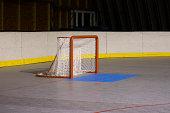 Hockey net used for ball hockey and inline hockey