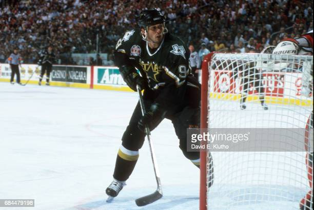 NHL Finals Dallas Stars Mike Modano in action vs Buffalo Sabres at Marine Midland Arena Game 4 Buffalo NY CREDIT David E Klutho