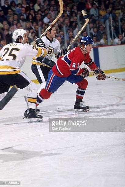 NHL Finals Montreal Canadiens Doug Jarvis in action vs Boston Bruins at Boston Garden Game 4 Boston MA CREDIT Dick Raphael