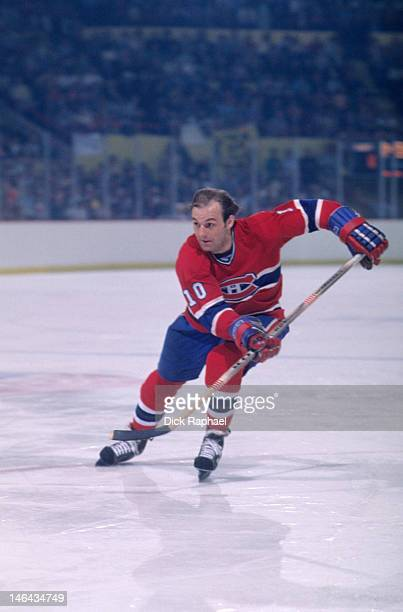 NHL Finals Montreal Canadiens Guy Lafleur in action vs Boston Bruins at Boston Garden Game 3 Boston MA CREDIT Dick Raphael