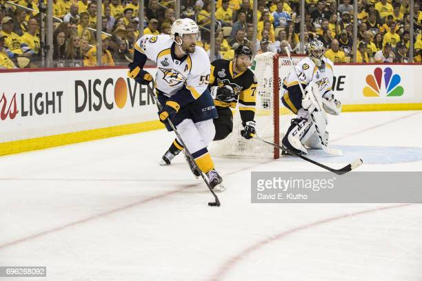 NHL Finals Nashville Predators Roman Josi in action vs Pittsburgh Penguins at PPG Paints Arena Game 5 Pittsburgh PA CREDIT David E Klutho