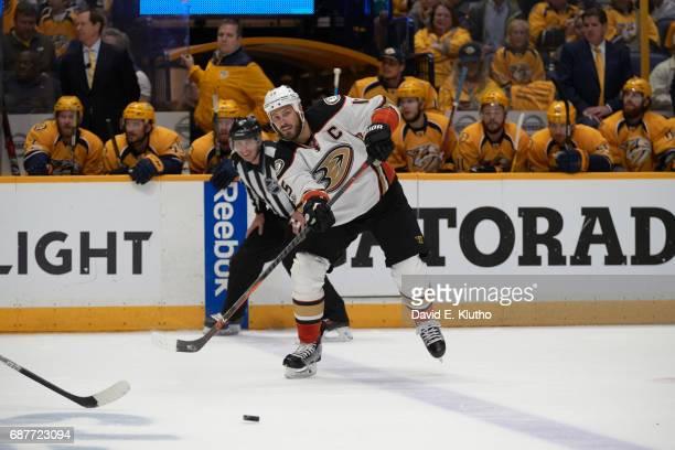 NHL Playoffs Anaheim Ducks Ryan Getzlaf in action vs Nashville Predators at Bridgestone Arena Game 4 Nashville TN CREDIT David E Klutho