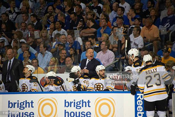 NHL Playoffs Boston Bruins head coach Claude Julien on bench during Game 6 vs Tampa Bay Lightning at St Pete Times Forum Tampa FL CREDIT Lou Capozzola