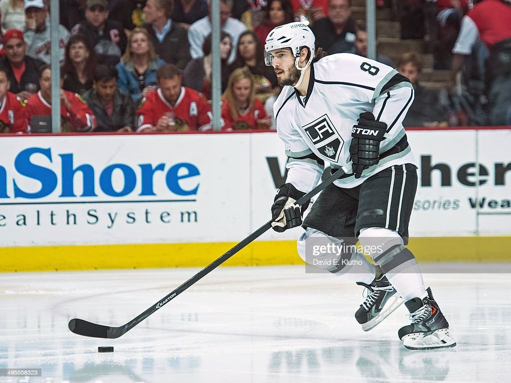 Los Angeles Kings Drew Doughty (8) in action vs Chicago Blackhawks at United Center. Game 7. David E. Klutho TK1 )