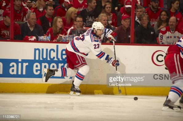 NHL Playoffs New York Rangers Chris Drury in action vs Washington Capitals at Verizon Center Game 1Washington DC 4/13/2011CREDIT Lou Capozzola