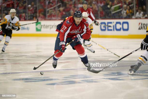 NHL Playoffs Washington Capitals TJ Oshie in action vs Pittsburgh Penguins at Verizon Center Game 5 Washington DC CREDIT Al Tielemans