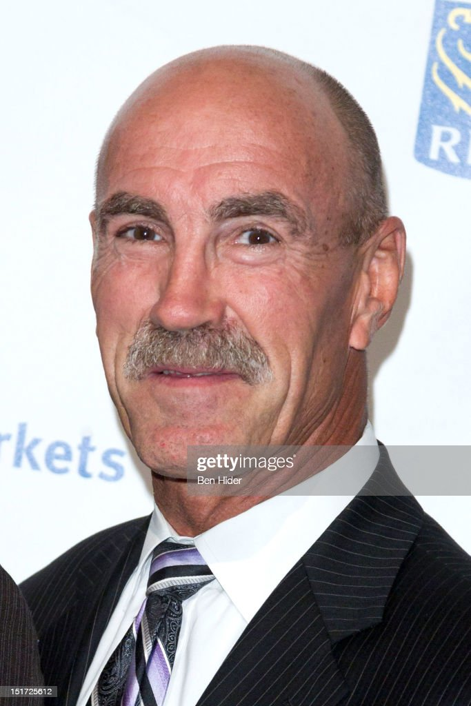 Hockey Player Bob Nystrom attends the Canadian Association Of New York's 33rd Annual Hockey Achievement Award Honoring Wayne Gretzky at Cipriani 42nd Street on September 10, 2012 in New York City.