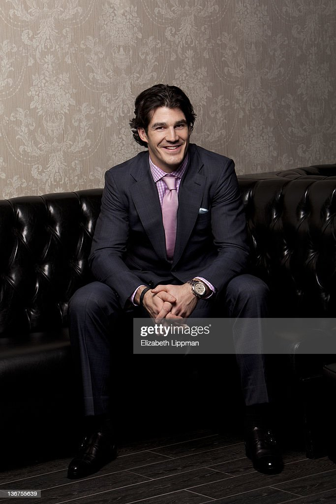 Hockey player Brian Boyle from the New York Rangers is photographed for New York Post on November 17, 2011 in New York City.
