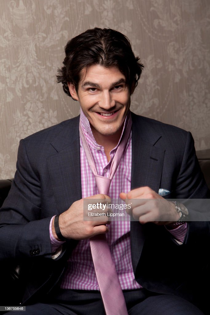 Hockey player <a gi-track='captionPersonalityLinkClicked' href=/galleries/search?phrase=Brian+Boyle+-+Ice+Hockey+Player&family=editorial&specificpeople=8986264 ng-click='$event.stopPropagation()'>Brian Boyle</a> from the New York Rangers is photographed for New York Post on November 17, 2011 in New York City.