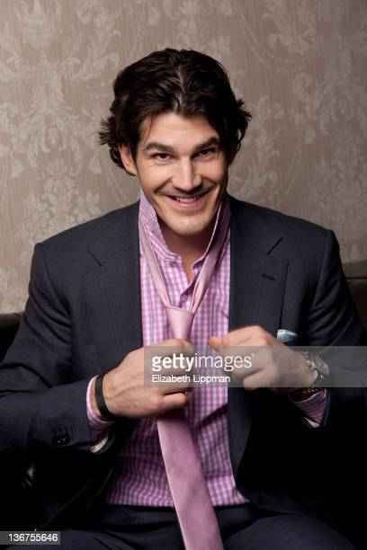 Hockey player Brian Boyle from the New York Rangers is photographed for New York Post on November 17 2011 in New York City