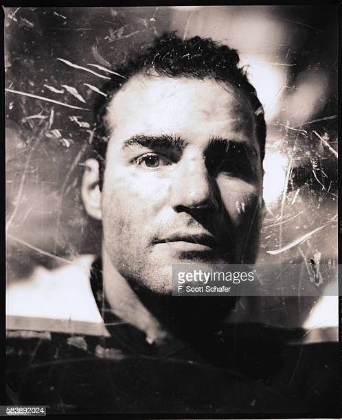 Hockey player Eric Lindros is photographed for ESPN The Magazine in 2000 COVER IMAGE