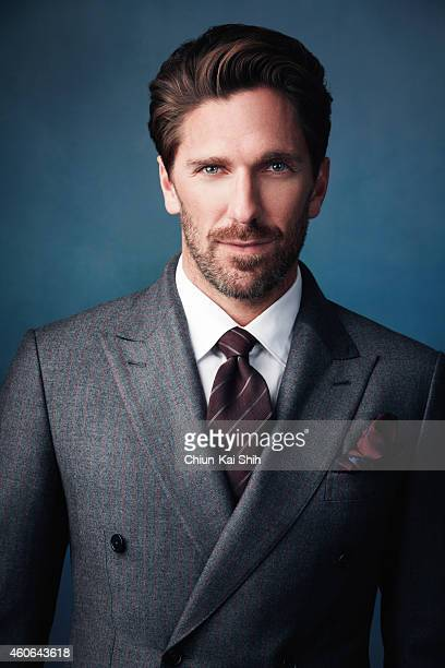 Hockey player Henrik Lundqvist is photographed for Gotham Magazine on August 26 2014 in New York City