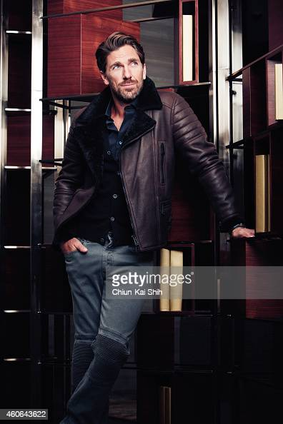 Hockey player Henrik Lundqvist is photographed for Gotham Magazine on August 26 2014 in New York City ON EMBARGO UNTIL JANUARY 1 2015 PUBLISHED IMAGE