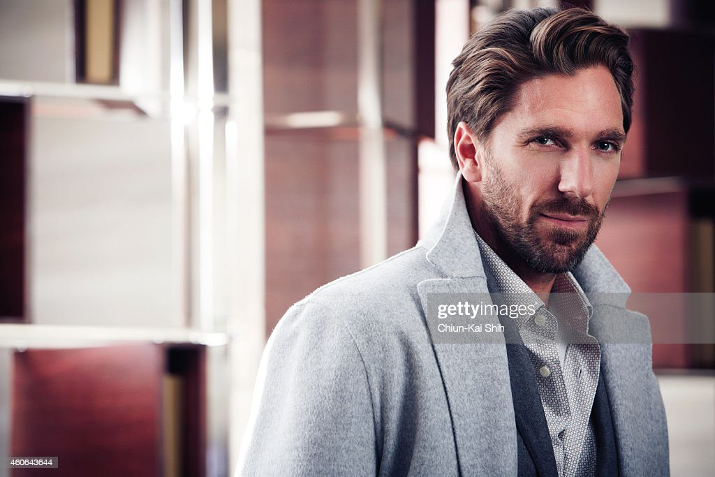Hockey player <a gi-track='captionPersonalityLinkClicked' href=/galleries/search?phrase=Henrik+Lundqvist&family=editorial&specificpeople=217958 ng-click='$event.stopPropagation()'>Henrik Lundqvist</a> is photographed for Gotham Magazine on August 26, 2014 in New York City. ON EMBARGO UNTIL JANUARY 1, 2015. PUBLISHED IMAGE.