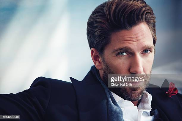 Hockey player Henrik Lundqvist is photographed for Gotham Magazine on August 26 2014 in New York City COVER IMAGE