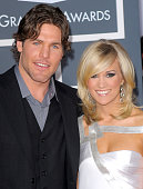 Hockey player Mike Fisher and singer Carrie Underwood arrives at the 52nd Annual GRAMMY Awards held at Staples Center on January 31 2010 in Los...