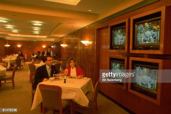 Madison Square Garden Club Restaurant Stock Photos and Pictures