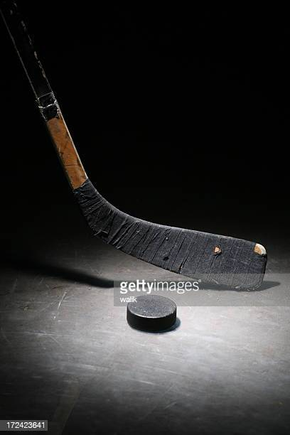 Hockeyschläger & Puck