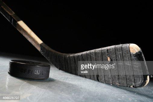 Hockey Stick & Puck