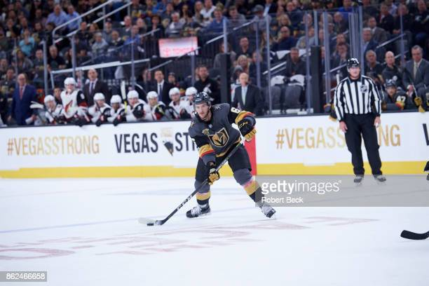 Vegas Golden Knights Colin Miller in action vs Arizona Coyotes at TMobile Arena Las Vegas NV CREDIT Robert Beck
