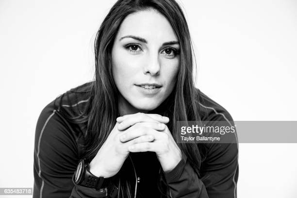 Winter Games Preview Closeup portrait of Hilary Knight during photo shoot at Time Inc Studios New York NY CREDIT Taylor Ballantyne