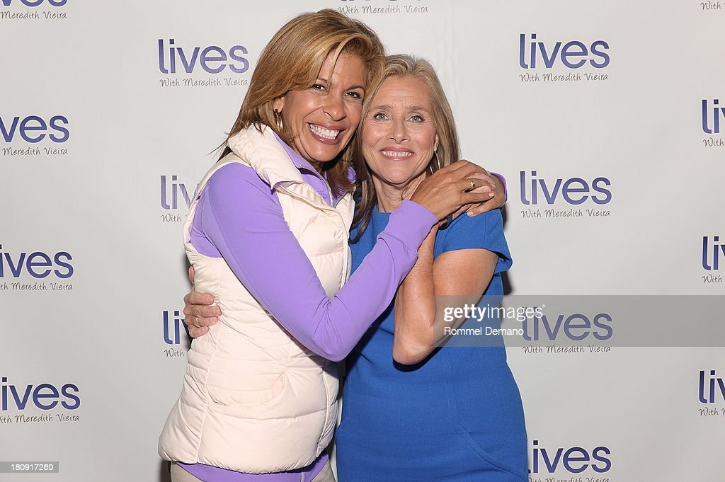<a gi-track='captionPersonalityLinkClicked' href=/galleries/search?phrase=Hoda+Kotb&family=editorial&specificpeople=2338013 ng-click='$event.stopPropagation()'>Hoda Kotb</a> and <a gi-track='captionPersonalityLinkClicked' href=/galleries/search?phrase=Meredith+Vieira&family=editorial&specificpeople=217718 ng-click='$event.stopPropagation()'>Meredith Vieira</a> attend the 'LIVES with <a gi-track='captionPersonalityLinkClicked' href=/galleries/search?phrase=Meredith+Vieira&family=editorial&specificpeople=217718 ng-click='$event.stopPropagation()'>Meredith Vieira</a>' Launch Party at Gramercy Park Hotel on September 17, 2013 in New York City.
