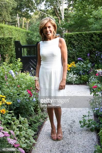 HAMPTON NY JULY Hoda Kotb at Hamptons Magazine Celebrates A Ladies Private Dinner hosted by Samantha Yanks on July 18 2014 in East Hampton New York
