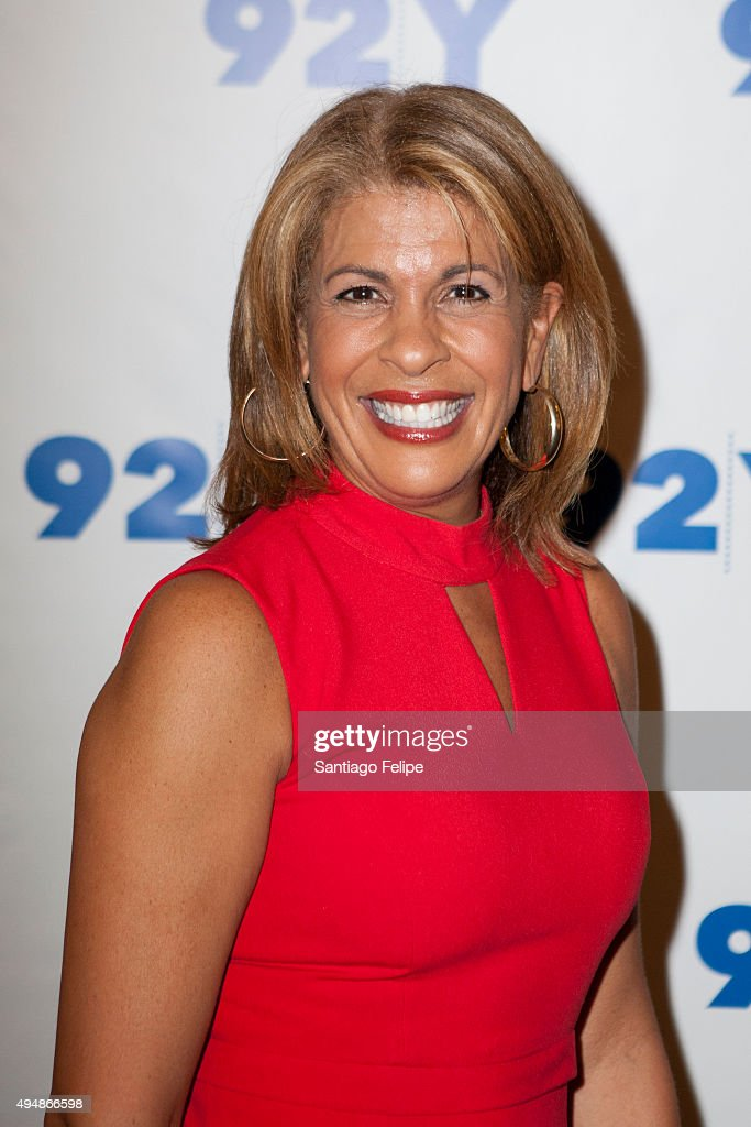 Hoda Kotb attends 92nd Street Y Presents: Rod Stewart In Conversation with Hoda Kotb at 92nd Street Y on October 29, 2015 in New York City.