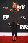 Hoda Kotb attends Fashion Rocks 2014 presented by Three Lions Entertainment at the Barclays Center of Brooklyn on September 9 2014 in New York City