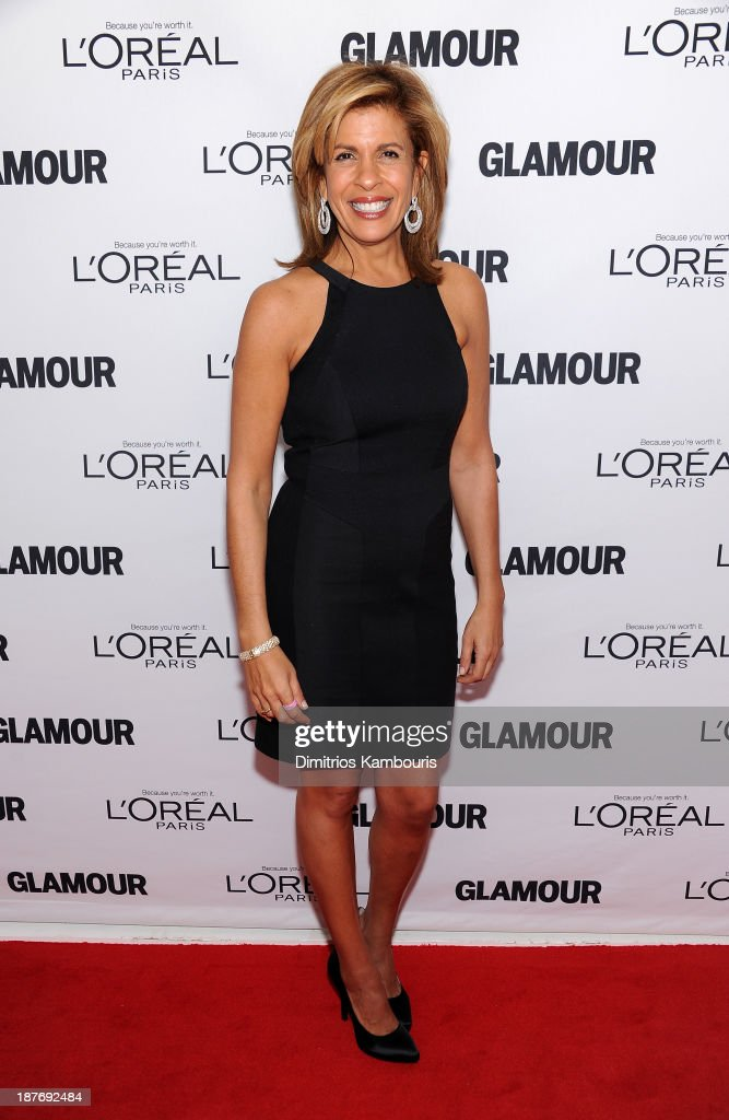 <a gi-track='captionPersonalityLinkClicked' href=/galleries/search?phrase=Hoda+Kotb&family=editorial&specificpeople=2338013 ng-click='$event.stopPropagation()'>Hoda Kotb</a> attends Glamour's 23rd annual Women of the Year awards on November 11, 2013 in New York City.