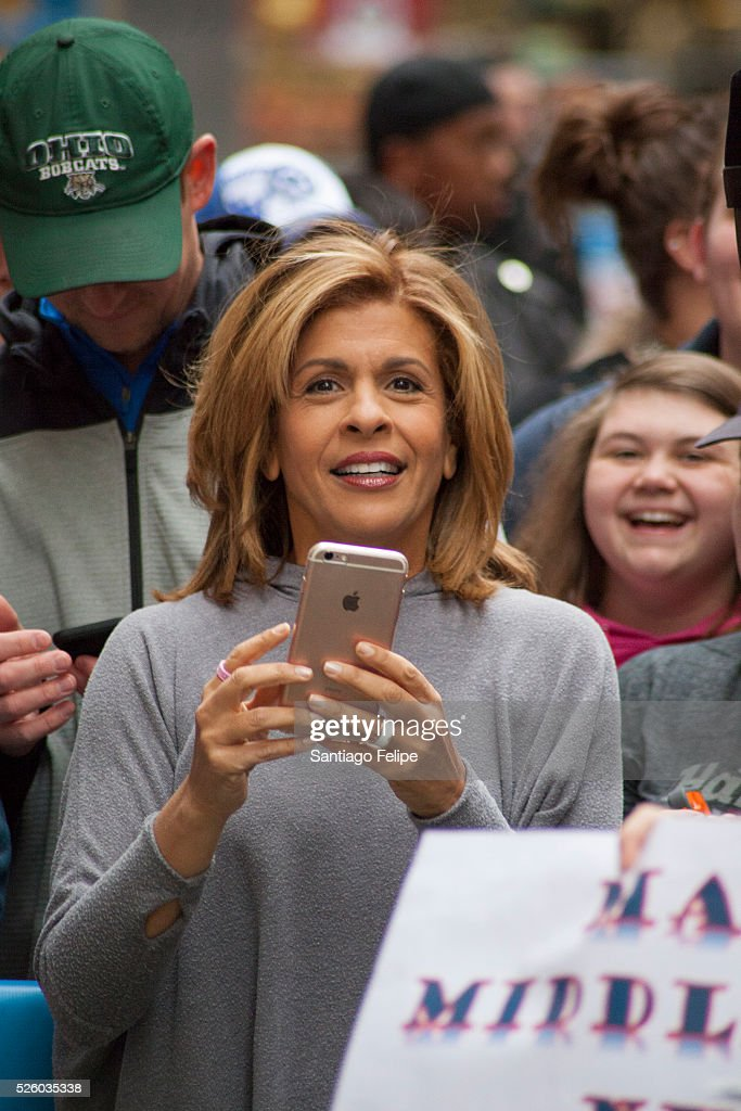 <a gi-track='captionPersonalityLinkClicked' href=/galleries/search?phrase=Hoda+Kotb&family=editorial&specificpeople=2338013 ng-click='$event.stopPropagation()'>Hoda Kotb</a> attends I Love The 90's Concert Tour Performs On NBC's 'Today' at Rockefeller Plaza on April 29, 2016 in New York City.