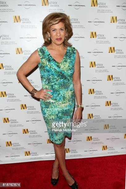 Hoda Kotb attends New York WOMEN IN COMMUNICATIONS Presents The 2010 MATRIX AWARDS at Waldorf Astoria on April 19 2010 in New York City