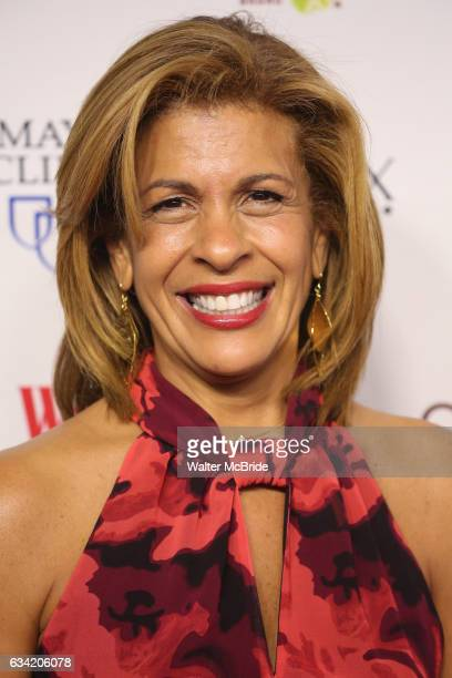 Hoda Kotb attends the 14th Annual Red Dress Awards presented by Woman's Day Magazine at Jazz at Lincoln Center Appel Room on February 7 2017 in New...
