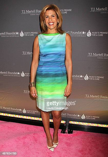 Hoda Kotb attends the 2014 TJ Martell Foundation Women Of Influence Awards at Essex House on May 1 2014 in New York City