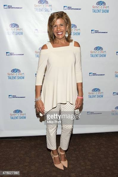 Hoda Kotb attends the 2015 Garden of Dreams Talent Show Rehearsal at Radio City Music Hall on May 28 2015 in New York City