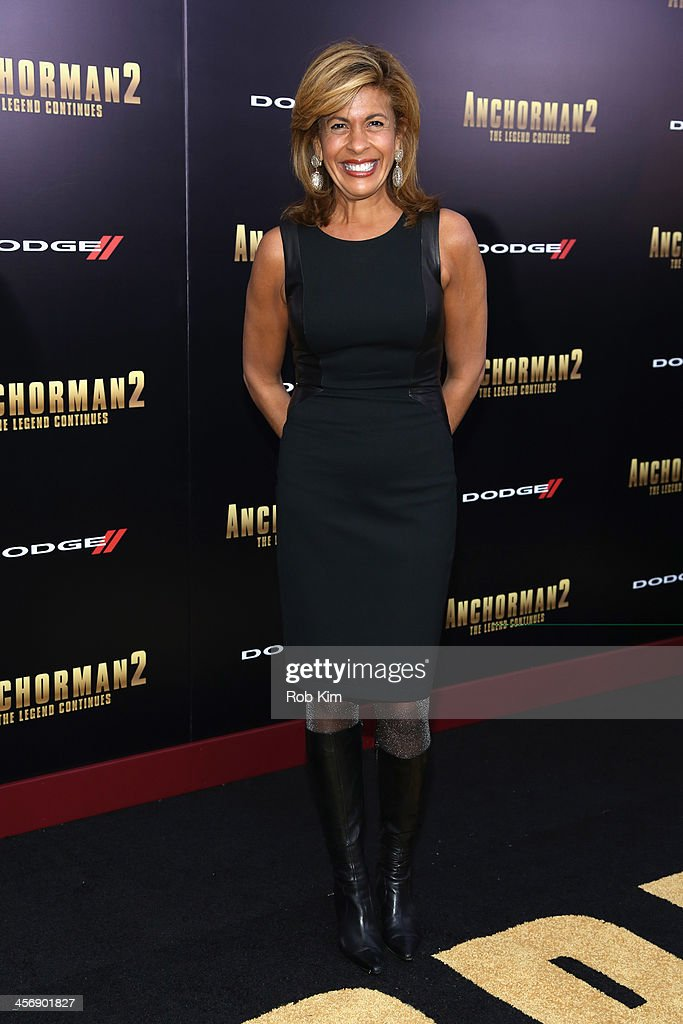 Hoda Kotb attends the 'Anchorman 2: The Legend Continues' U.S. premiere at Beacon Theatre on December 15, 2013 in New York City.