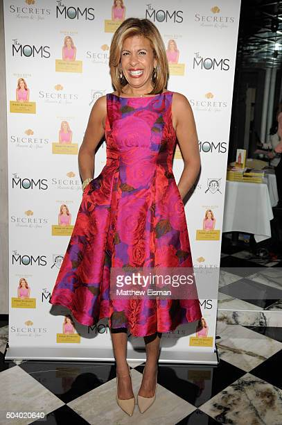 Hoda Kotb attends The Moms and Secrets Resorts Spas Mamarazzi luncheon event at Hunt Fish Club on January 8 2016 in New York City