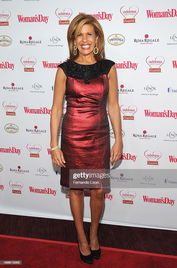 Hoda Kotb cohost of the fourth hour of NBC's 'Today' arrives as American Heart Association celebrates the 10th Year of Go Red For Women at The...