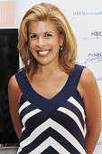 Hoda Kotb promotes her new book 'Hoda How I Survived War Zones Bad Hair Cancer and Kathie Lee' at NBC Experience Store on July 22 2011 in New York...