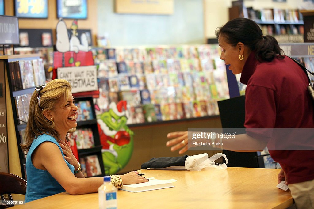 Hoda Kotb Book Signing At Barnes And Noble Getty Images