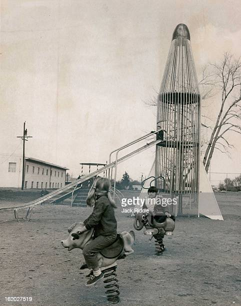 MAR 21 1969 APR 1 1969 APR 2 1969 Hoffman Park Playground Equipment Has Some Unusual And Interesting Forms Carrie Niedziela 148 Del Mar Parkway rides...