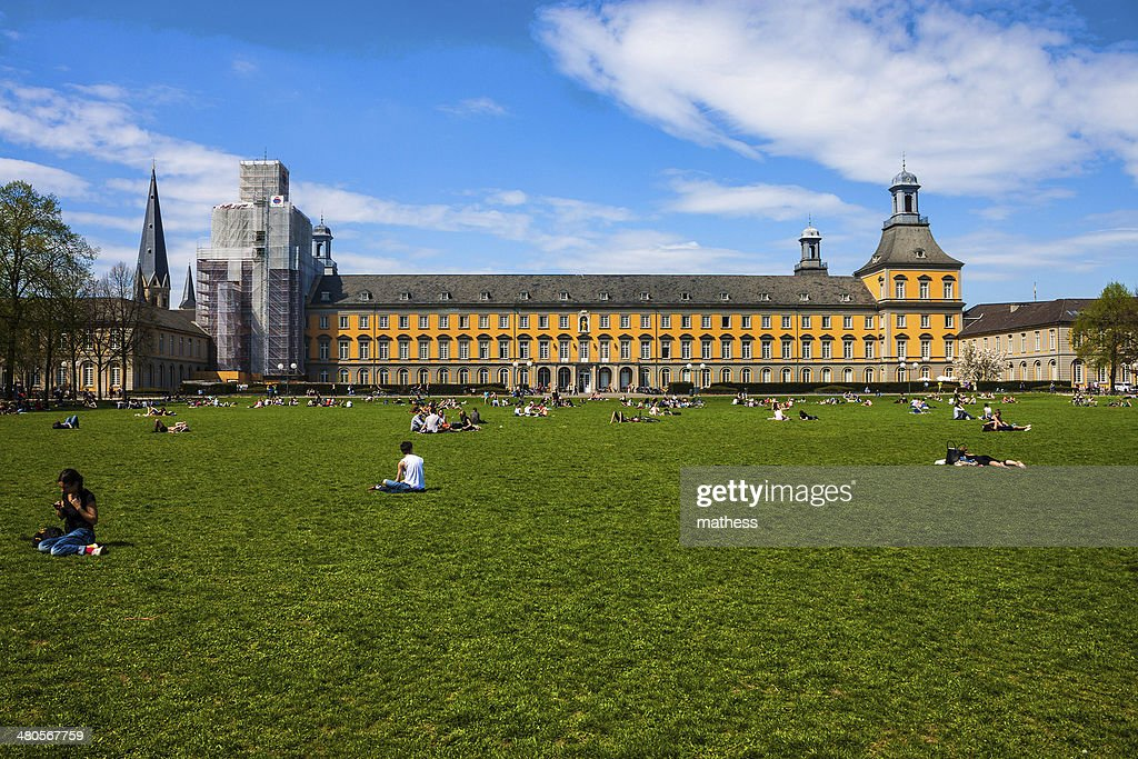 Hofgarten park in Bonn : Stock Photo
