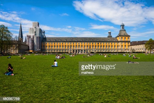 Hofgarten park in Bonn : Stock Photo
