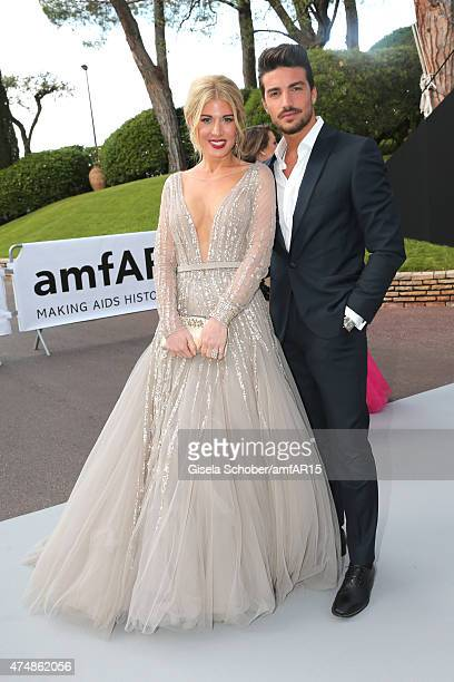 Hofit Golan and Mariano Di Vaio attend amfAR's 22nd Cinema Against AIDS Gala Presented By Bold Films And Harry Winston at Hotel du CapEdenRoc on May...
