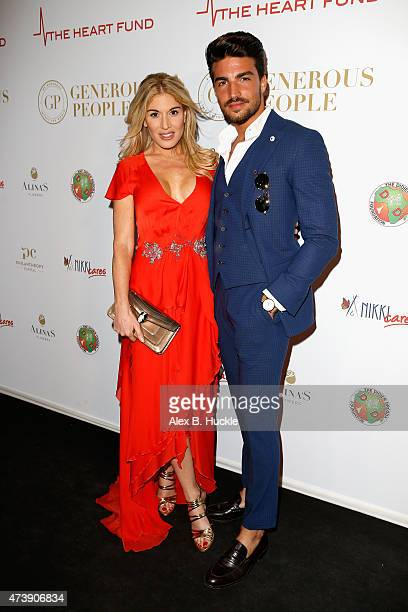 Hofit Golan and Mariano Di Vaio attends The Heart Fund party during the 68th annual Cannes Film Festival on May 18 2015 in Cannes France