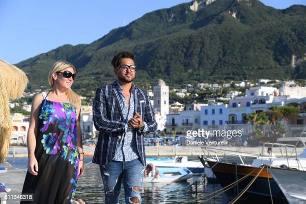 Hofit Golan and Samuel Sohebi attend 2017 Ischia Global Film Music Fest on July 9 2017 in Ischia Italy