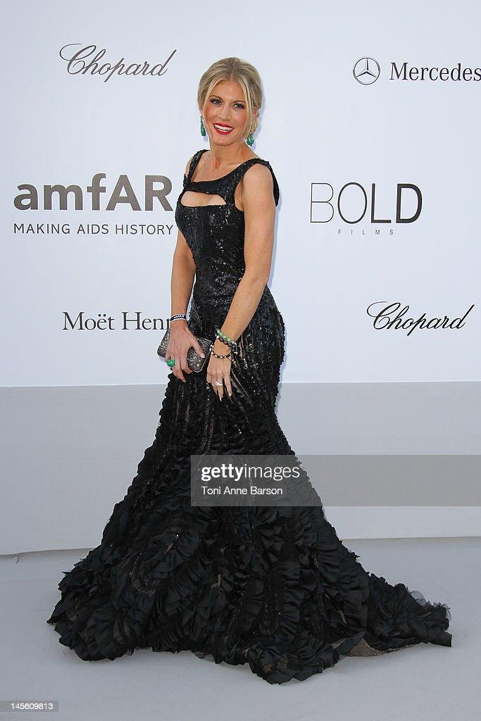 Hofit Golan arrives at amfAR's Cinema Against AIDS at Hotel Du Cap on May 24, 2012 in Antibes, France.